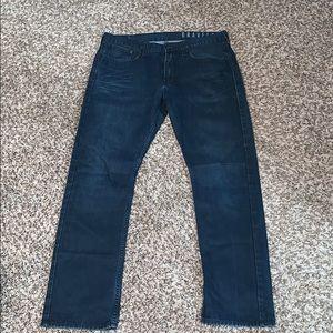 Bullhead men's lightweight blue jeans size 34/32